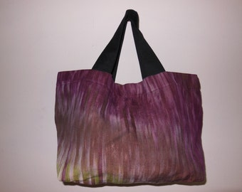 Handmade tote shopper bag