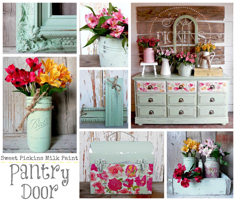 Sweet Pickins Milk Paint Color Pantry Door By Maggimarket