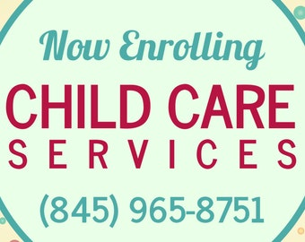 Childcare Services Custom Banner