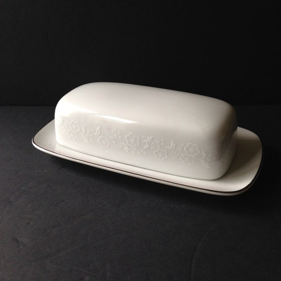Covered Butter Dish Butter Dish With Lid Vintage Fine China