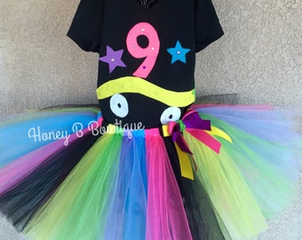 Roller Skate/80's Tutu Outfit