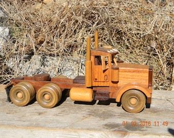 Wooden Semi #7