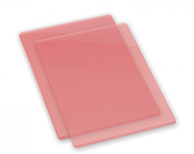 Sizzix Accessory - Cutting Pads, Standard, 1 Pair (Coral)