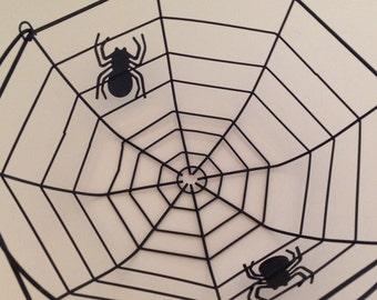 Spider Web Basket Halloween Basket Halloween Decor