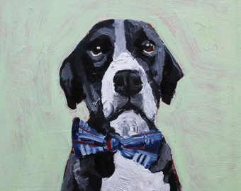 Custom Pet Portrait 12'' x 12''