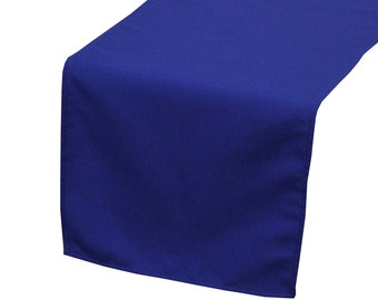 Royal Blue Polyester Table Runner | Wedding Table Runners