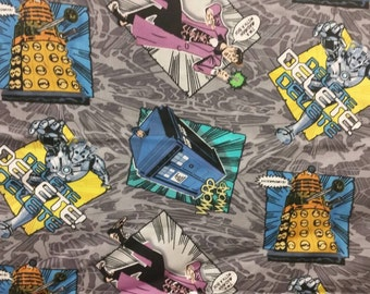 Dr. Who Infinity Scarf