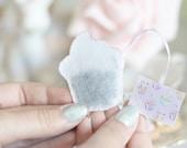 Cupcake shaped tea bags, pastel, girly, cute tea time gift