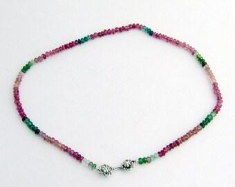 SaLe! sALe! Multi Colored Turmaline Necklace