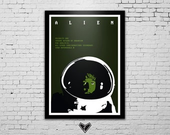 ALIEN Movie Poster Ridley Scott