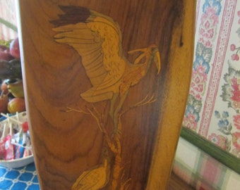Wood Inlaid Marquetry Picture/Plaques