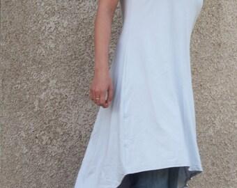 Asymmetric Tunic Midi Dress Plus Sizes Tunic Asymmetric Tunic Top & Nara AT)16
