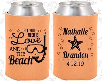 All you Need is Love and the Beach, Custom Wedding, Beach Wedding, Tropical Wedding Favors, Starfish Wedding, Starfish Favors (411)