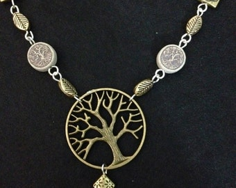Tree Of Life: Book Of Shadows Necklace