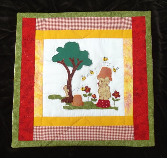 Cushion/throw pillow cover Super Cute Patchwork. Lovingly