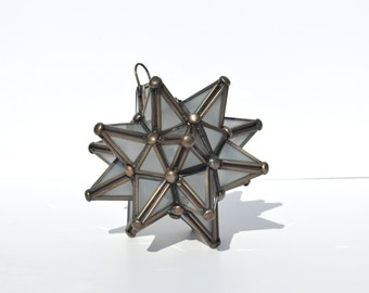 Glass Star Lantern, Mini