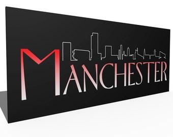 Manchester Frasier canvas print