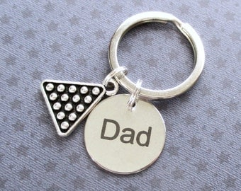 Father's Day gift - Gift for Dad - Snooker keyring - Pool player gift - Father's Day keyring - Dad keyring - Custom keyring for Dad - UK
