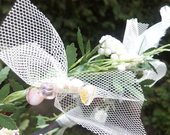 "Fairy crown ""White fairy"""