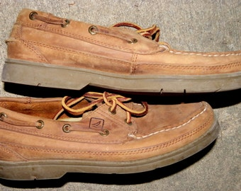 8M SPERRY TOPSIDE BOAT mENS sHOES