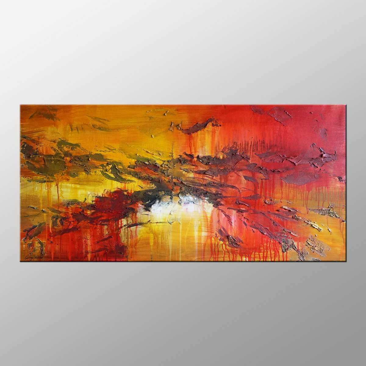 Oil Painting Abstract Canvas Art Extra Large By