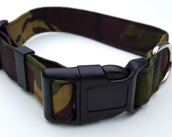 Green Camouflage Collar