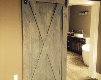 Srpeters41's custom barn door