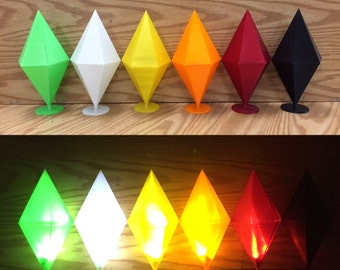 Sims Life Size (LED) Plumbob Diamond 3.0 ( cosplay, halloween, comiccon )