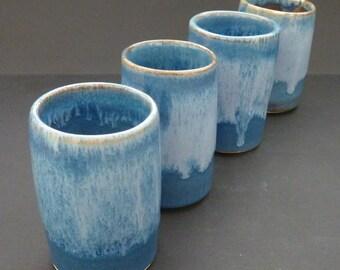 Tot Pot! Handmade ceramic whisky cup.