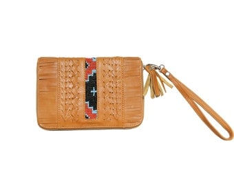 Kachina Leather Wallet Tan