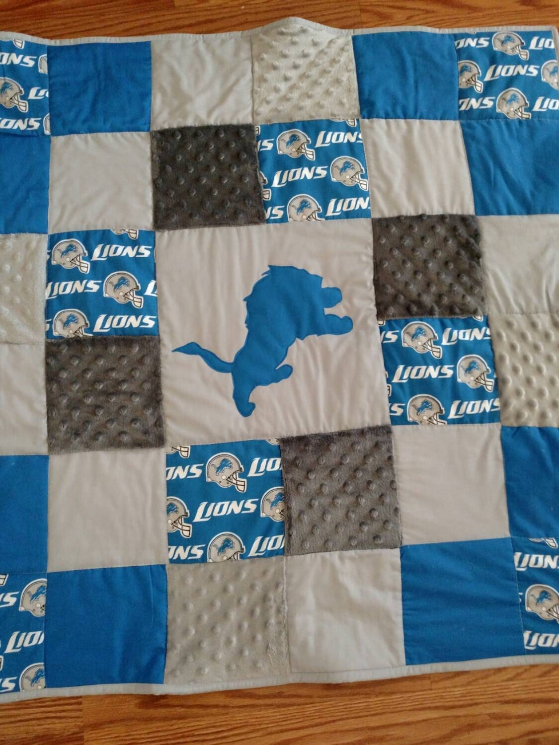 Lions Baby Quilt