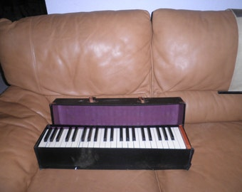 Folding Practice Piano Keyboard With Case