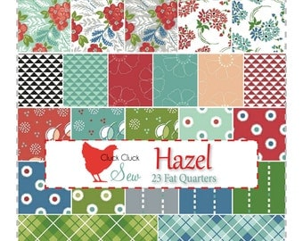 Hazel Fat Quarter Bundle by Allison Harris of Cluck Cluck Sew for Windham Fabrics
