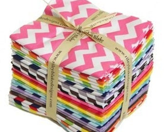 Chevron Fat Quarter Bundle by Riley Blake