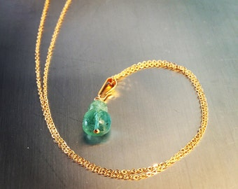 Columbian Emerald Pendant