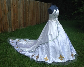 Customized or Themed Wedding Gown [OPEN]