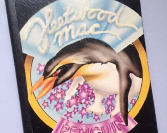 "Recycled Record Album Cover Notebook / Journal / ""Fleetwood Mac"""