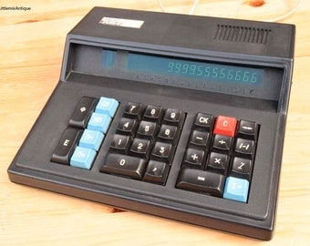 Vintage 1987 Russian Soviet Era 'Электроника MK 59' Made in CCCP Large Electronic Office Desk Calculator