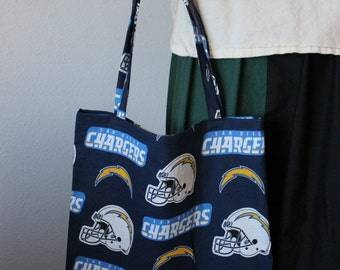 San Diego Chargers Fabric Tote Bag