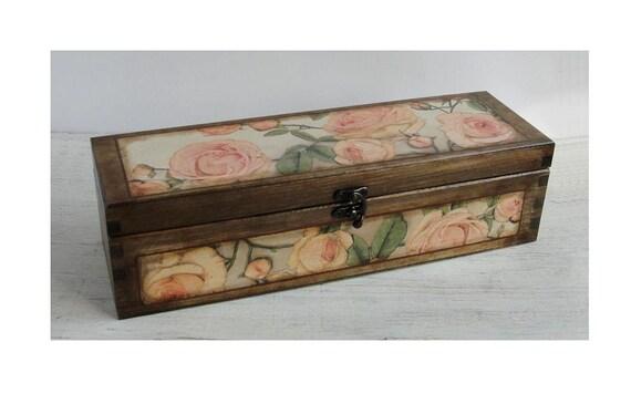 Wooden Wine Box Wedding Gift : wine box. Wedding wooden wine box. Wedding gift. Wine bottle box. Wine ...