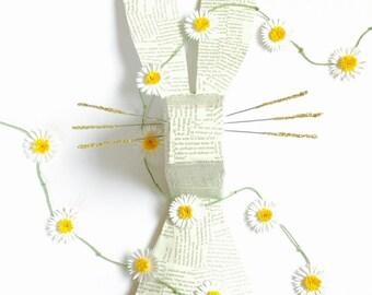 Paper Daisy Chain Garland