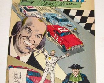 The Legends of NASCAR Starring BENNY PARSONS-1991 Collector's Edition Comic -Perfect Condition