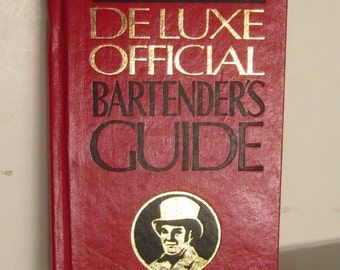 """Vintage """"Old Mr. Boston DeLuxe Official Bartender's Guide"""",copyright 1981 (62nd printing), Mr. Boston Distillers, Inc.., Boston, Mass"""