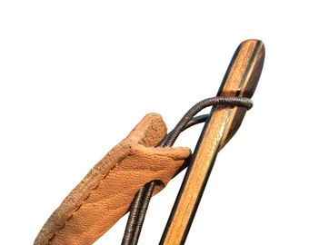 Traditional Archery Longbow Recurve Takedown Bow Tip Protector Thick Leather