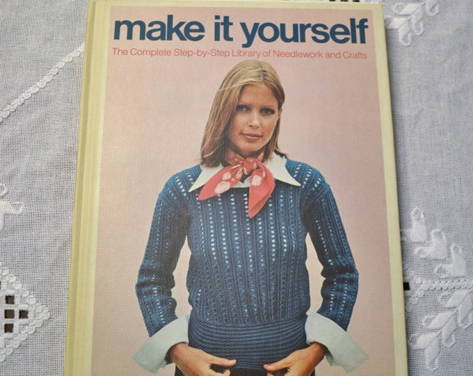 Make It Yourself Book Volume 1 Retro Needlework and Crafts DIY Instructions Patterns Designs  PanchosPorch