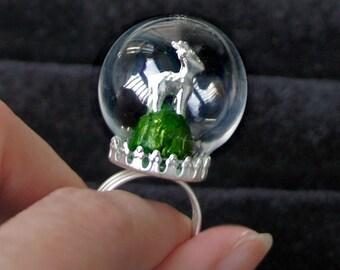 HOT Terrarium ring blanks kits,Glass globe vials ring blanks, antique bronze,silver tone,crown,adjustable rings,glass vials rings