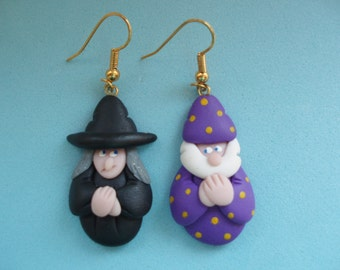Witch and Wizard Earrings