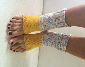 knitting Yoga Socks multicolor   Pilates Socks   Socks Dance Socks Slipper Socks Women  Socks  Colorful Hipster Socks Yoga active wear