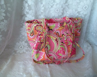 Colorful Tote - Pink