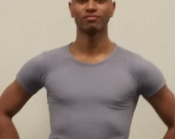 MADE TO ORDER Men's Spandex Dance T-shirt